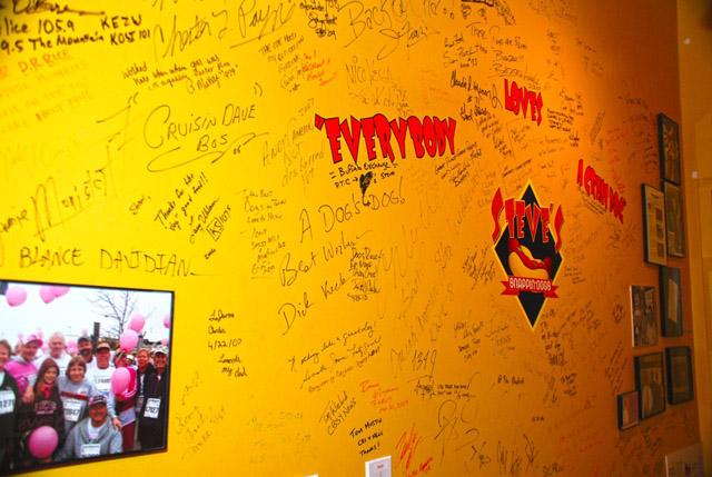 steves wall of fame