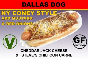 Steve's Snappin' Dogs Dallas Dog