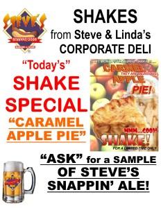 Caramel Apple Pie Shake