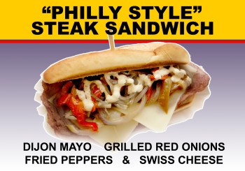Philly Style Steak Sandwich