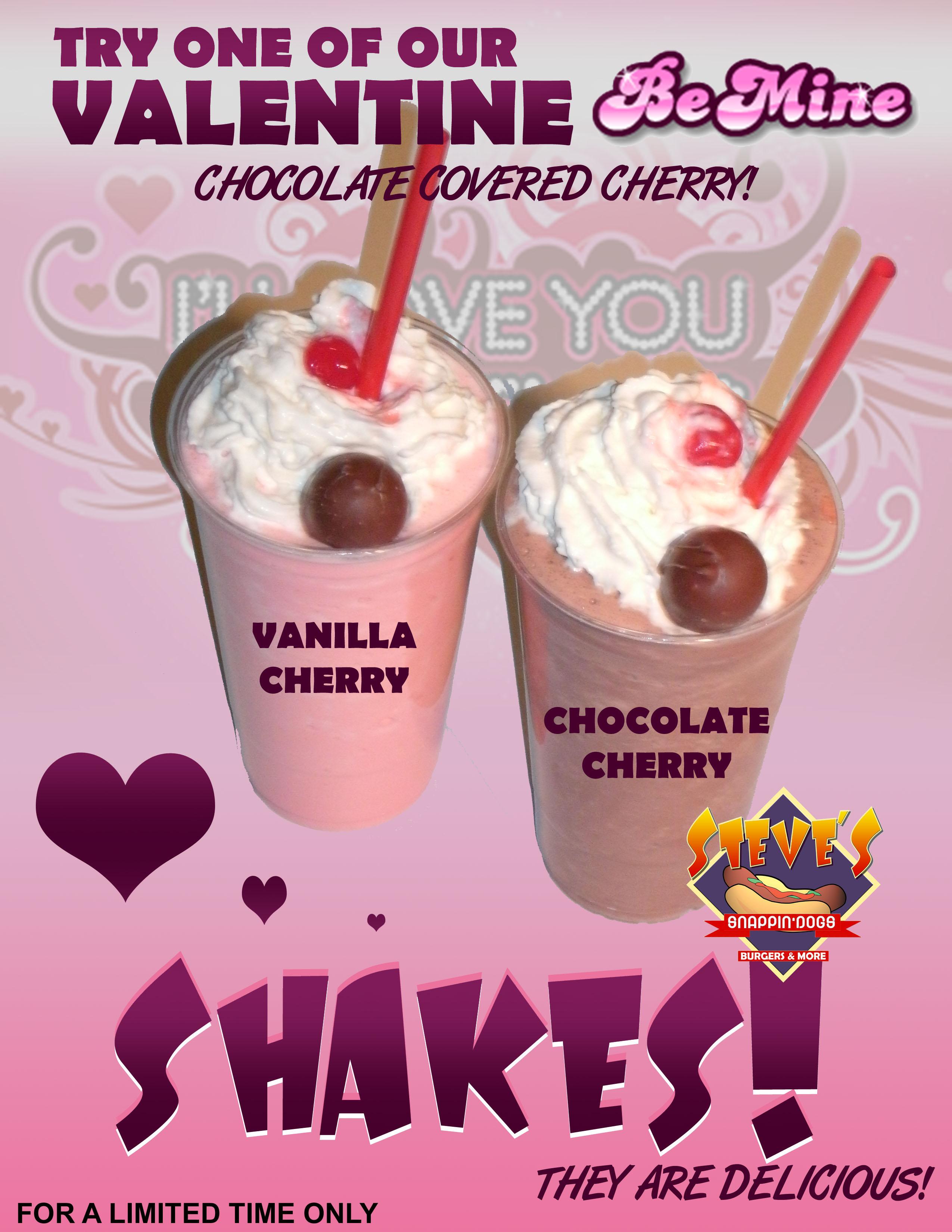 This Month's Featured Shake: Valentine's Shake!