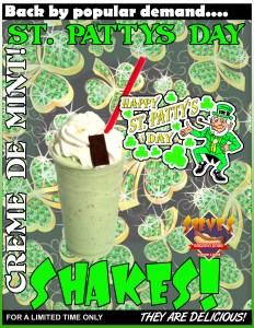 Saint Patty's Shake