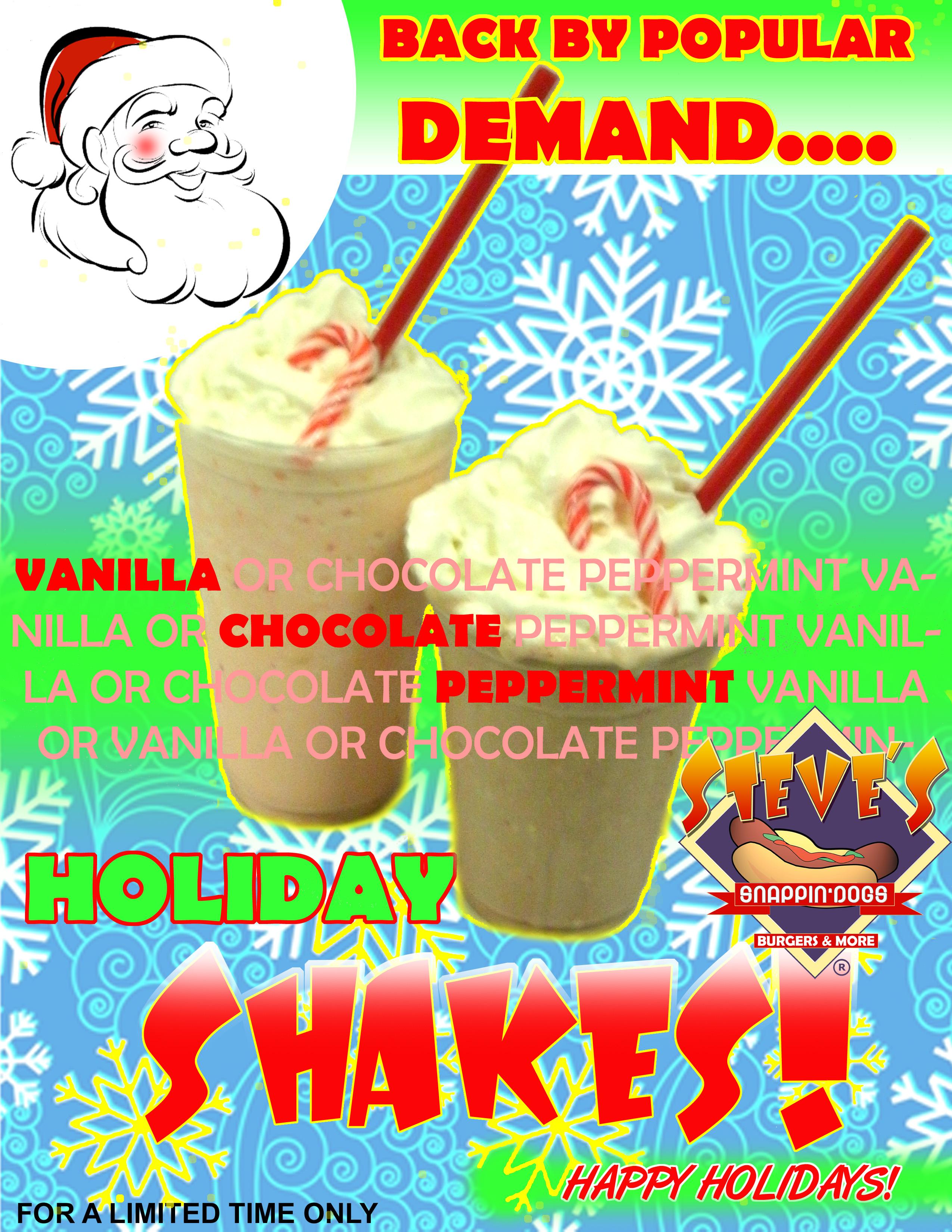 Shake it up with Holiday Season