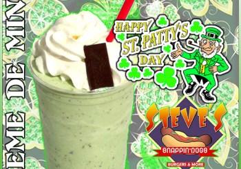 st pattys day shake
