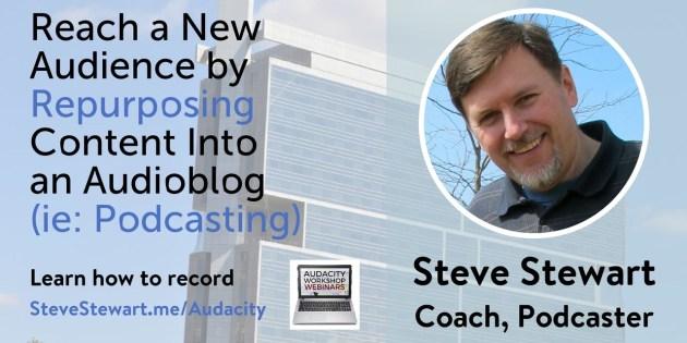 Steve Stewart's audioblog speech at FinCon15