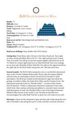 OC - 03 - BLM Oolite Interpretive Trail