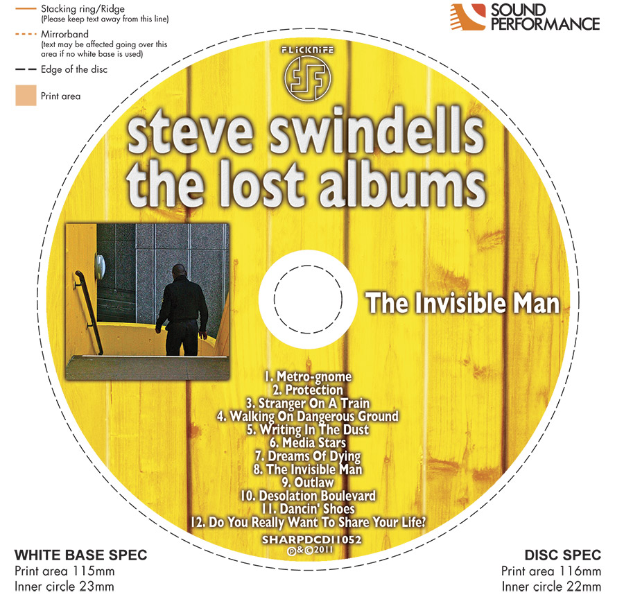 Steve Swindells' Sleeve Notes To 'The Lost Albums'. (2/4)