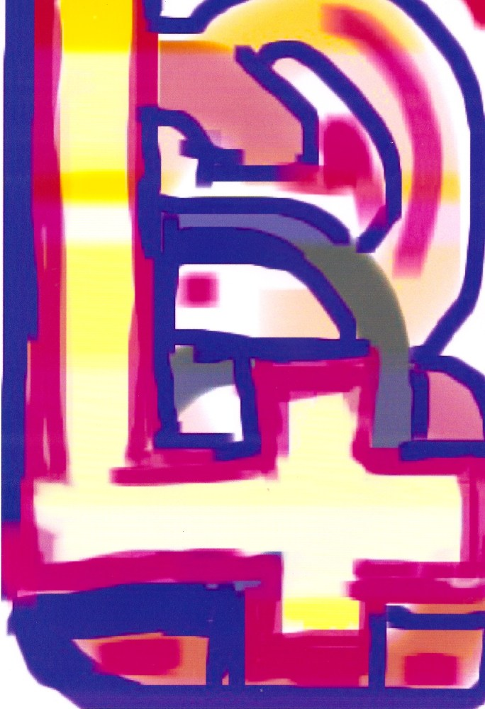 iPhone Phinger Paintings . June 2010 - June 2014 (6/6)