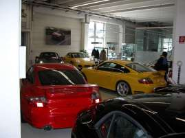 Factory Used Car Lot