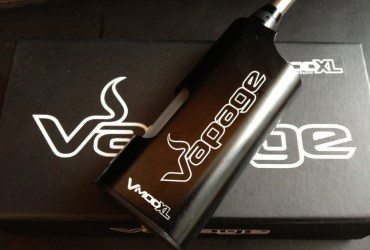 V-MOD XL Review juice fed ecig by vapage title image