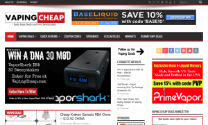 vaping cheap screenshot