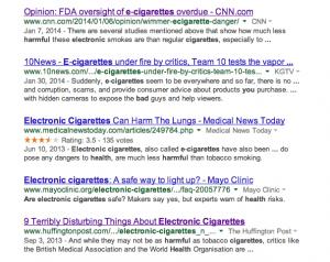 dismal google results
