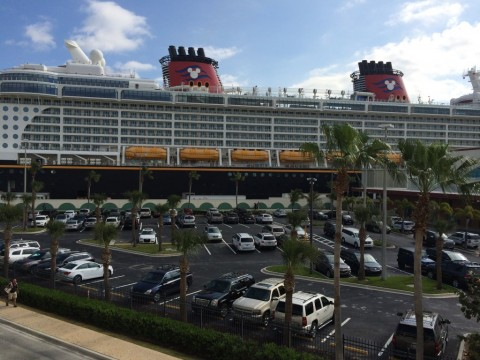 Disney Dream Parking Lot