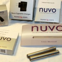 Nuvo Cig Starter Kits - Shiny Silver eCigs Review