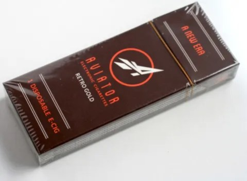 aviator test flight e-cigarette review single pack