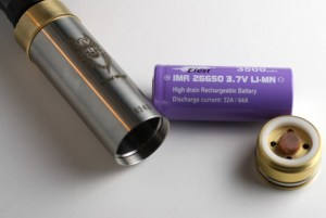 wild wolf mod review efest purple battery image