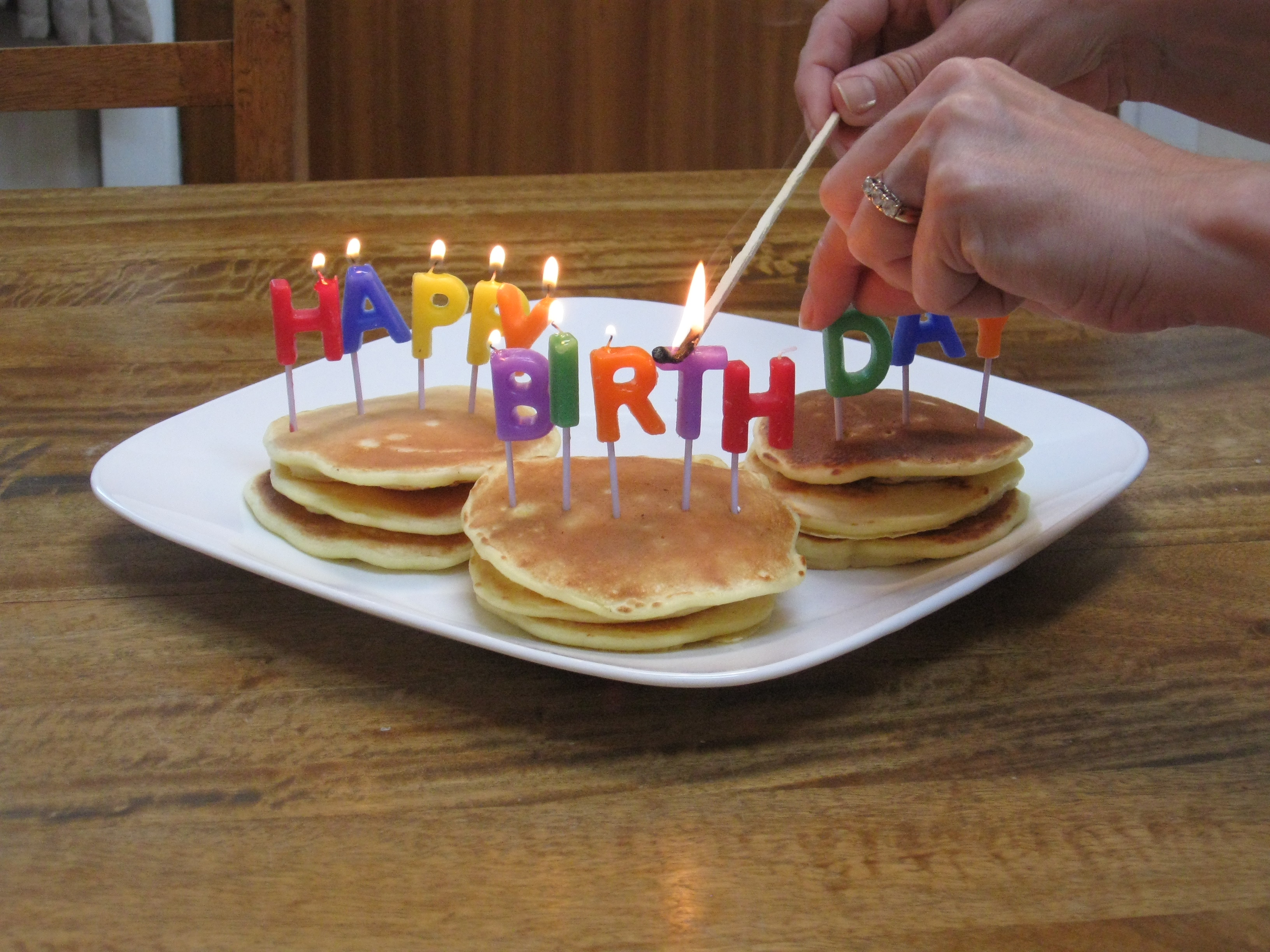 Birthday Pancakes For All