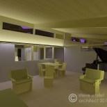 elmer house model by steve wallet architect