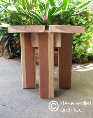 steve wallet architect plant stand 3 side 3-17-2013
