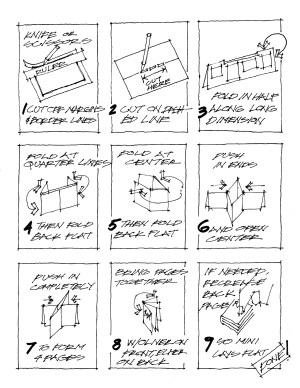 schindler mini-comic assembly instructions steve wallet architect 5-19-2013