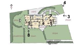 rm rudolph schindler adolph tischler floor plan 2