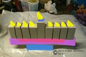 steve wallet architect scrap menorah colored bands 2013-11-12
