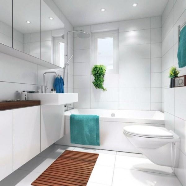 Small White Bathroom Designs Ideas