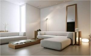 minimalist empty living background interior source
