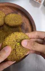 Lime, Orange & Pistachio Cookies Recipe With Stevia