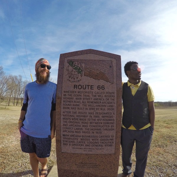 Oklahoma Route 66 historical stop