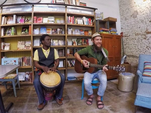 Music at Bluebird Books in Hutchinson for Hutchinson News
