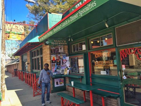 photo of macy's european coffee house in flagstaff arizona