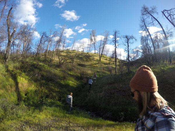 Wandering the hills of Clear Creek, Redding, California, with the GoPro