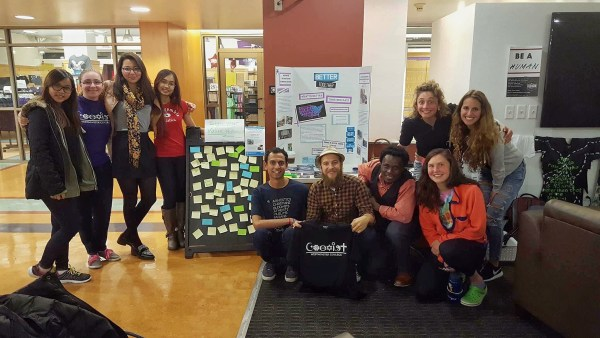 photo of youth for better together day in westminster college salt lake city, utah