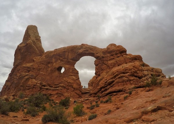 photo of the arches near moab, utah