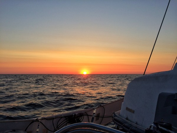 Photo by Stevie vagabond of the sunrise over the gulf of mexico