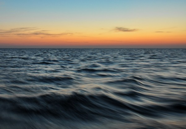 Photo of dawn in the gulf of mexico