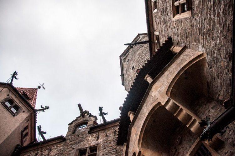 bouzov castle in czech republic