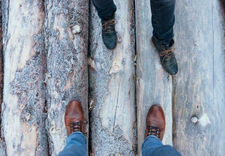 feet in macocha czech republic