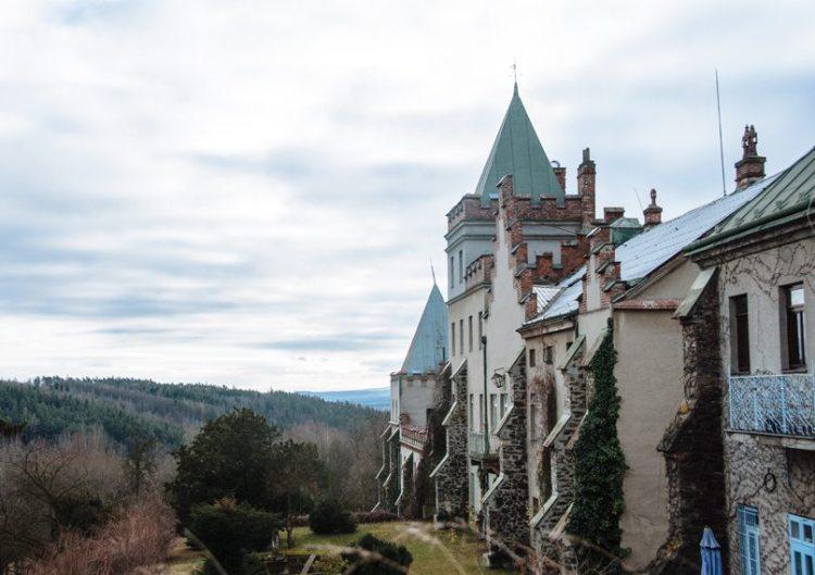 plumlov castle, czech republic