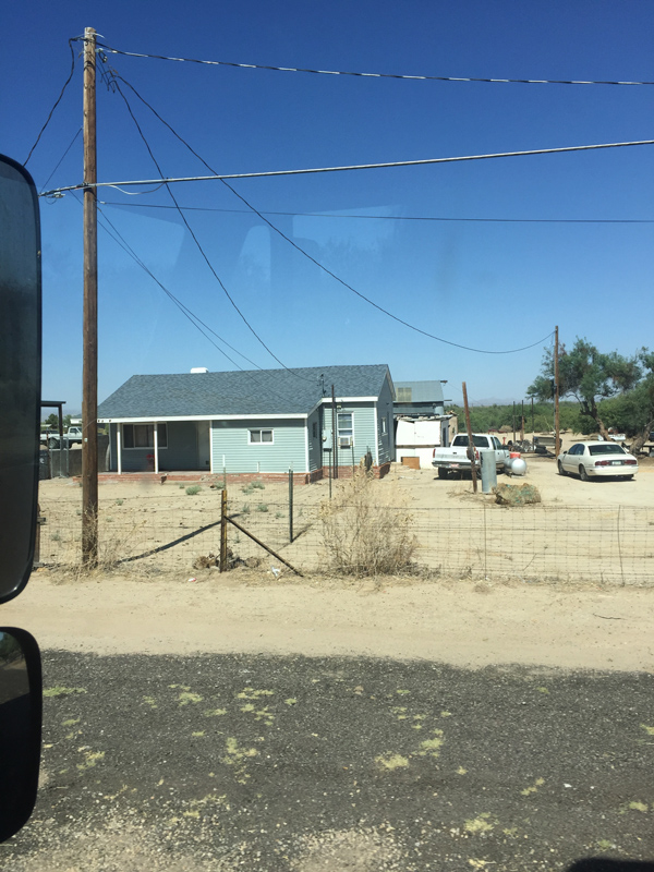 Photo of a home in the Apache land in Arizona.