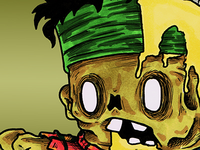 Zombie Thug Wallpaper