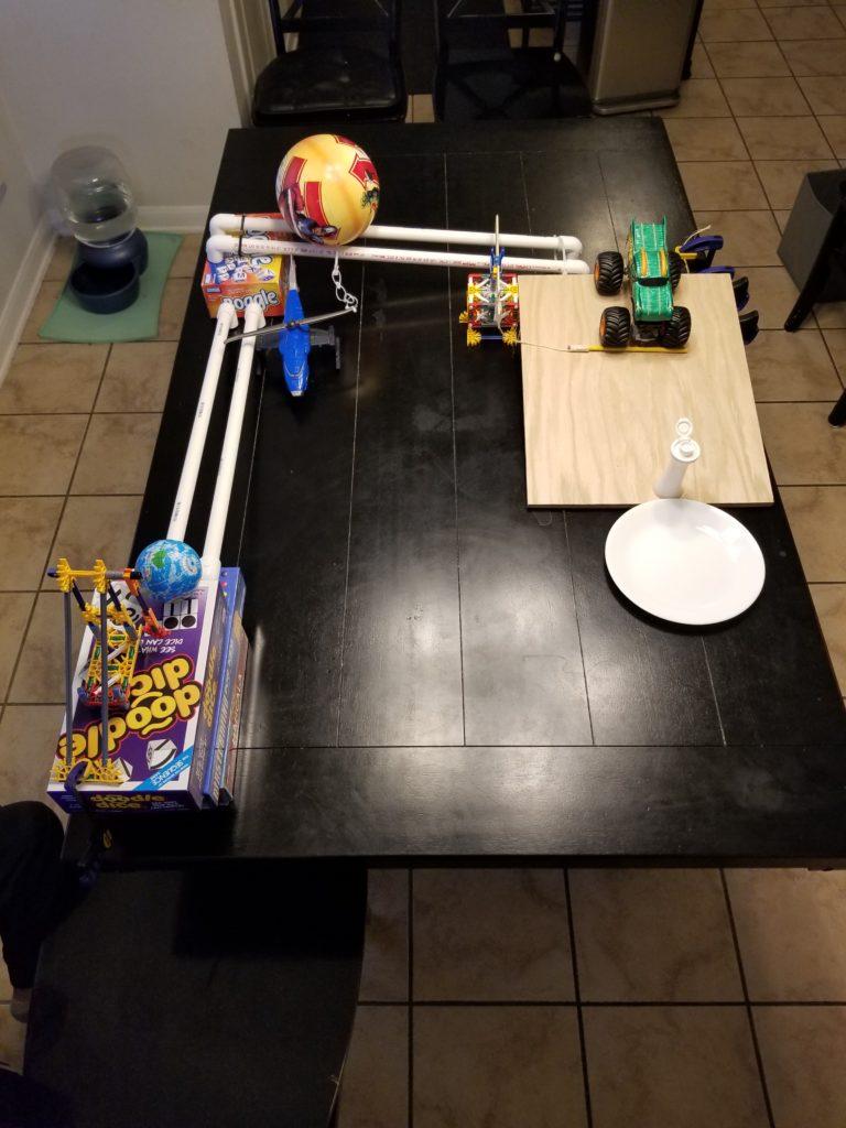 Zander's Rube Goldberg Machine - The Home of Stevis