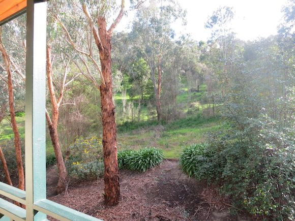 View from door of my room at Eltham Gateway Hotel