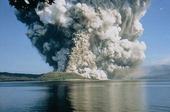 Mount Vulcan, Rabaul, 1994