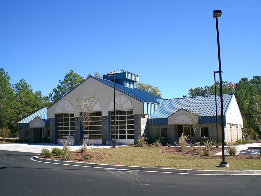 City of Aiken APDS Station 5  JE Stewart Builders