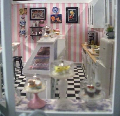 Cupcake Shop 3 Stewart Dollhouse Creations
