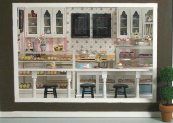 Cupcake Shop 4 Stewart Dollhouse Creations