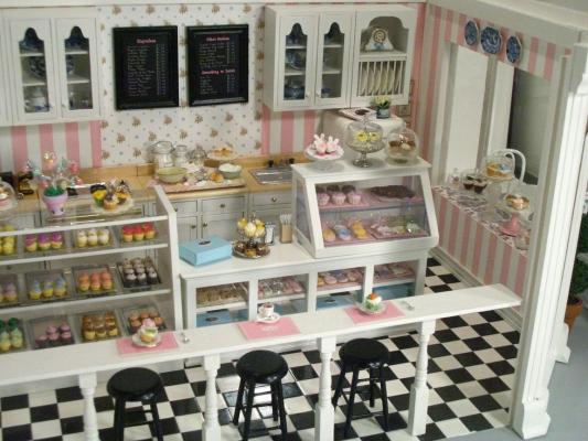 Cupcake Shop 9 Stewart Dollhouse Creations