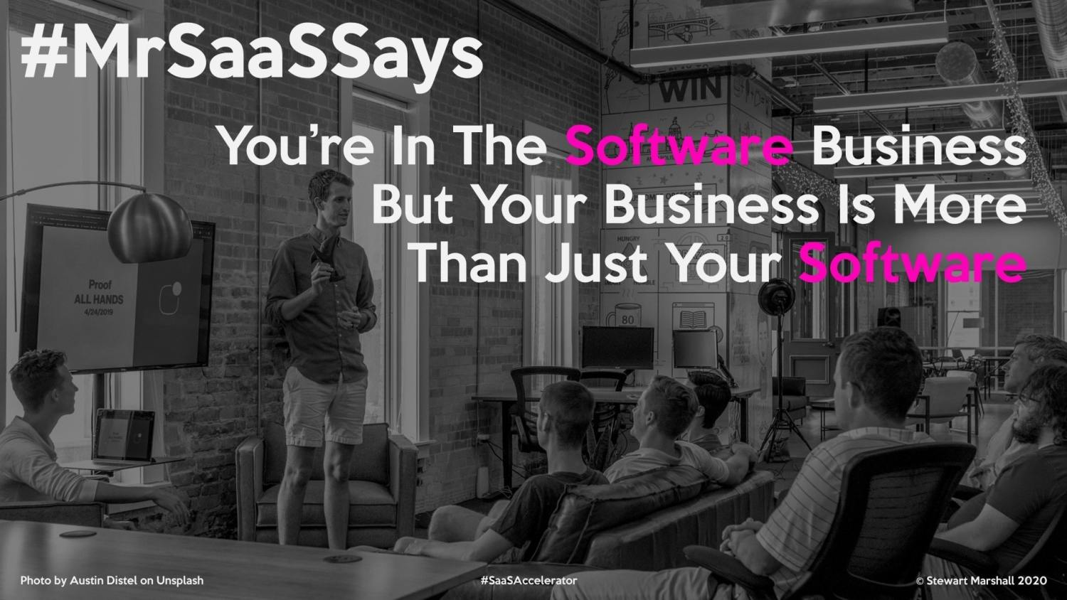 There's more to SaaS than just software